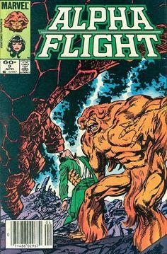 Alpha Flight # 9 by John Byrne