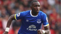 Flip card: Everton's Yannick Bolasie has been sidelined with a knee injury since December
