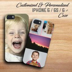 CUSTOM IPHONE 6 CASE   IPHONE 6S COLLAGE COVER   CUSTOM PHOTO   MAKE YOUR OWN in Mobile Phones & Communication, Mobile Phone & PDA Accessories, Cases & Covers   eBay