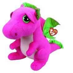 TY Beanie Boos Darla The Pink Dragon Plush Large  Darla the Pink Dragon c2d575a908a3