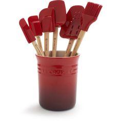 Le Creuset® Cherry 7-Piece Tools Set