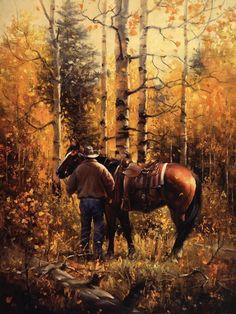 Autumn Cowboy #TheLuckyCowgirlFall