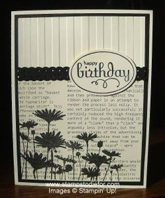 stamping card ideas stampin up | stampin up birthday card @ Do It Yourself Remodeling Ideas