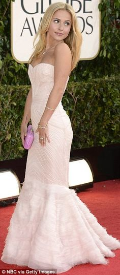 Best Golden Globes Looks - Hayden Panettiere    ✜ ღ♥Please feel free to repin ♥ღ✜    www.fashionandclothingblog.com
