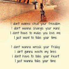 Sam Hunt - Take Your Time