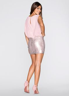 Bekijk nu:Stijlvolle jurk van het merk BODYFLIRT met mooie pailletten op de rok…