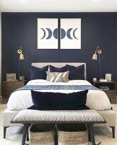 Bedroom Lamps Design, Home Decor Bedroom, Modern Bedroom, Bedroom Interior, Bedroom Design, Luxurious Bedrooms, Chandelier In Living Room, Apartment Decor, Apartment Interior