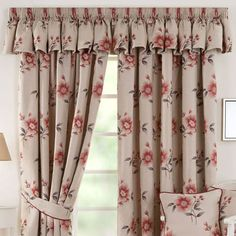 Изображение Curtain Styles, Curtain Designs, Home Curtains, Kitchen Curtains, Rideaux Design, Window Seat Kitchen, Living Room Decor, Bedroom Decor, Kitchen Cabinets Decor