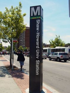 "Shaw-Howard University is a Washington Metro station in Washington, D.C. on the Green Line. It is also served by the Yellow Line during off-peak times.     The station is located in Northwest Washington and has two entrances, at 7th and S Streets NW, and 8th and R Streets NW. It was initially named only ""Shaw"", and serves Howard University and the neighborhood of Shaw. Service began on May 11, 1991."