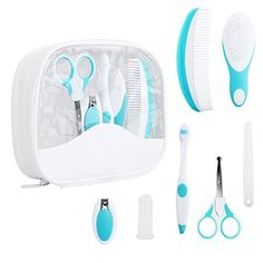 Summer Infant Nail Clipper Set│Baby//Kid/'s Nail Care Kit│Includes 2 Size│+0 Month