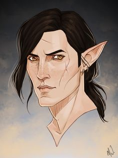 """iorveht: """" My inquisitor beb Eden drawn by @cocotingo ლ(´ڡ`ლ) I'll most likely go at the printer's soon and have it printed out 90 times, yES. """""""