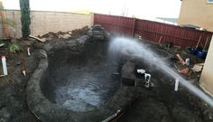 Hose down, day 1!