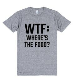 WTF: Where's The Food?