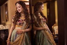 Opulent Punjabi Engagement Ceremony In Ludhiana With A Bride In Sabyasachi. Check out photos, ideas & stories shared by Bride & Groom. Wedding Dresses For Girls, Bridal Dresses, Girls Dresses, Shadi Dresses, Indian Gowns Dresses, Indian Bridal Lehenga, Indian Bridal Outfits, Engagement Lehnga, Indian Attire