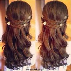 Hairstyles for wedding flower girl