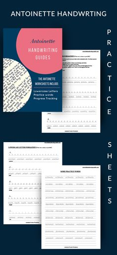 These worksheets are the best and most detailed set of handwriting worksheets i have found so far. They offer more than just alphabet practice. They have tons of practice words to help you with muscle memory and you can easily track your progress. Handwriting Practice Sheets, Improve Your Handwriting, Handwriting Alphabet, Nice Handwriting, Handwriting Worksheets, Practice Cursive, E Words, Muscle Memory, Lower Case Letters