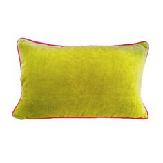 Green Velvet Cushion | Dunelm