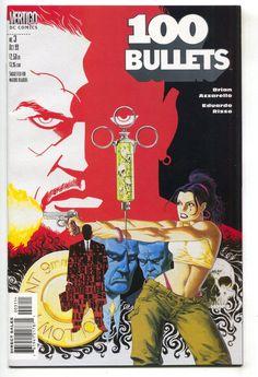 100 Bullets 3 Vertigo 1999 NM- Brian Azzarello Eduardo Risso Dave Johnson Movie
