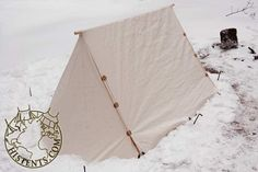 Small traveling tent - linen