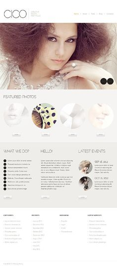 'Cico Photo' #webdesign for Joomla 2.5 Template 43113 http://zign.nl/43113