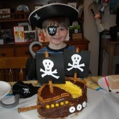 My son wanted a Pirate Party for his 6th birthday. A pirate birthday party is an easy and fun party for both boys and girls. Read on to find ideas...