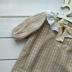 Boho Linen Dress for Baby Girls Boho | Etsy | MaryLinen