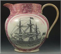 1815 Sunderland lustre pitcher