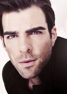 He makes Spock look good. Elf ears and all ; American Horror, American Actors, Beautiful Men, Beautiful People, Zachary Quinto, Zachary Levi, Star Trek Ships, Wattpad, Chris Pine