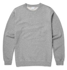 Sunspel Crew Neck Sweater: Probably the best basic sweatshirt you could find. British heritage brand Sunspel have decades of experience in fit and fabric selection culminating in a collection of true wardrobe staples. Made from the highest quality loopback cotton this immaculate sweatshirt has set in sleeves for a smarter look and ribbed cuffs and hem.