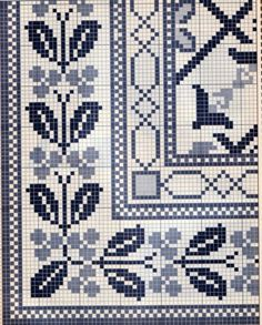 Cross Stitch Borders, Cross Stitch Designs, Cross Stitching, Diy Embroidery, Cross Stitch Embroidery, Embroidery Patterns, Diy Broderie, Latch Hook Rugs, Tapestry Crochet