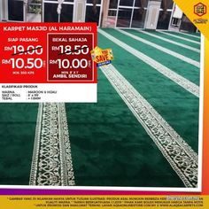 Business for Sale for sale, in Klang, Selangor, Malaysia. Lowest Price Mosque Carpet With Promo We Save You Save Sale! Buy Mosque Carpet At Best Quality & Office Carpet, Mosque, Save Yourself, Business, Promotion, Stuff To Buy, Carpets, Office Rug, Farmhouse Rugs