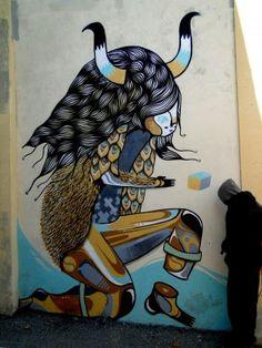 Goddog @Avignon #Graphisme #street art