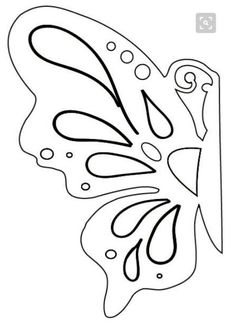 Free Paper Cutting Templates - Free Patterns and ideas Butterfly Template, Butterfly Crafts, Flower Template, Origami Butterfly, Butterfly Pattern, Butterfly Cutout, Easy Butterfly Drawing, Butterfly Feeder, Butterfly Stencil