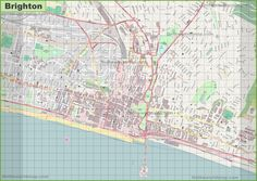 Southampton tourist map Maps Pinterest Tourist map