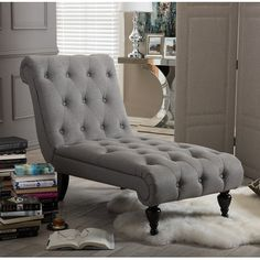 Wholesale Interiors Layla Chaise Lounge   Wayfair The Layla chaise lounge offers the optimal foundation for lavish relaxation. The chaise lounge offers contemporary charm to the piece. The graceful scrolls and the turning legs complete the look for an ultimate relaxation.