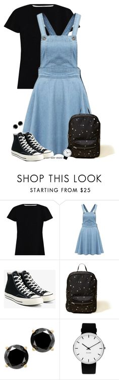 """""""AN #77"""" by an-nao ❤ liked on Polyvore featuring Zimmermann, Converse, Hollister Co. and Rosendahl"""