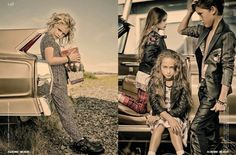Fall 2014 editorial kids fashion story by Gerard Harten for Collezioni magazine