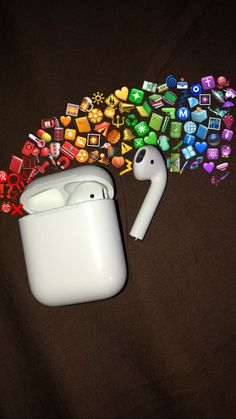 airpod w/emoji rainbow (yes i did make this myself)✨ You are in the right place about airpods samsung Here we offer you the most beautiful pictures about the airpods case you are looking for. When you examine the airpod w/emoji rainbow (yes i did[. Emoji Wallpaper Iphone, Wallpaper Wa, Iphone Wallpaper Images, Iphone Wallpaper Tumblr Aesthetic, Cute Emoji Wallpaper, Cute Patterns Wallpaper, Rainbow Wallpaper, Iphone Background Wallpaper, Cute Disney Wallpaper