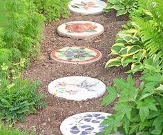 Garten-Deko-Ideen-Trittsteine-selber-machen-Ideen