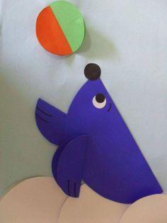 Seal craft idea for kids – Crafts and Worksheets for Preschool,Toddler and Kindergarten Seal Crafts For Kids, Kids Crafts, Toddler Crafts, Art For Kids, Arts And Crafts, Circus Animal Crafts, Sea Animal Crafts, Preschool Circus, Preschool Activities