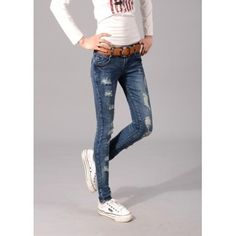 Hole Flaning Pants Jeans http://www.breakicetrends.com/pants-58.html/jeans-178.html/newest-special-hole-flaning-pants-jeans.html