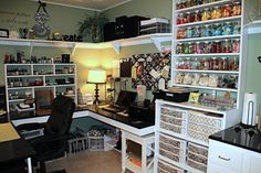Great scrapbooking space!wow!!
