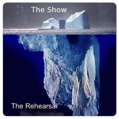 This pretty much sums it up, whether you are in Winter Percussion, Guard, Marching Band or Theatre...I have found this to be absolutely true...