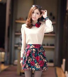 Korean Retro Fashion Lapel Slim Apricot Suits