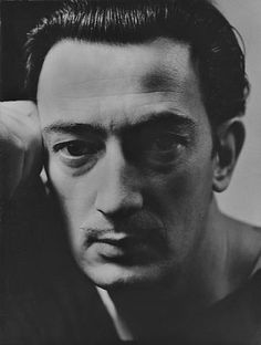 Title	 	Salvador Dali  Medium	 	platinum print  by  George Hoyningen-Huene
