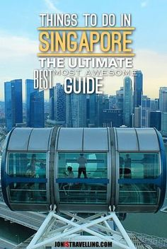 Searching for the best things to do in Singapore? This list will give you heaps of ideas to help you plan your Singapore itinerary, including beaches, historic buildings and gardens.