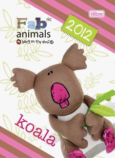 Koala Diary by Tilibra Fabric Animals, Recycled Fabric, Our Planet, Recycling, Teddy Bear, Toys, Character, Activity Toys, Clearance Toys