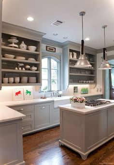042 awesome modern farmhouse kitchen cabinets ideas