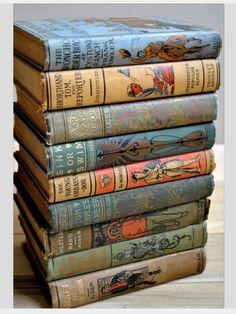Vintage boys books