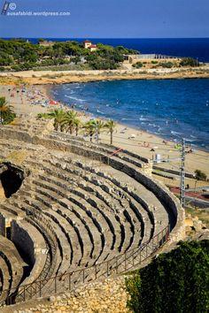 Tarragona; Roman Amphitheatre by the beach